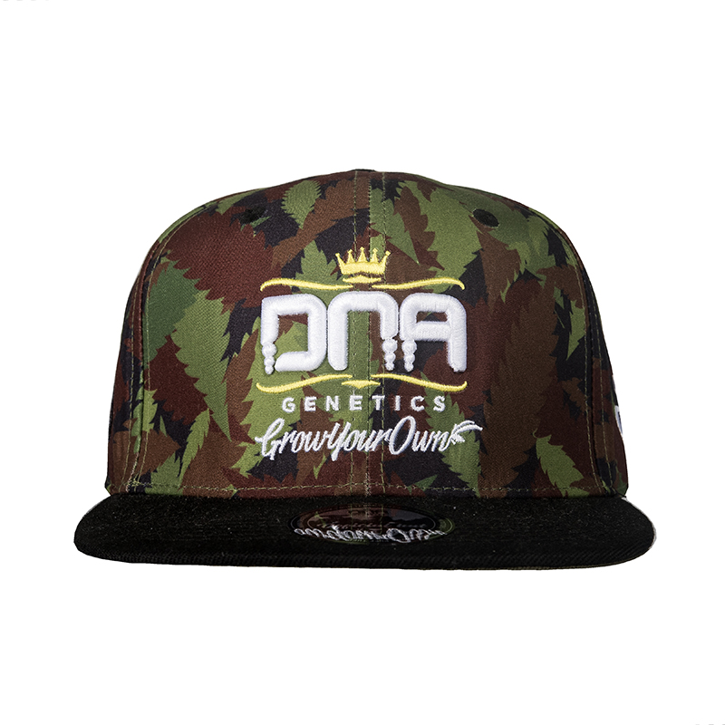 DNA Ganja Camo Fitted