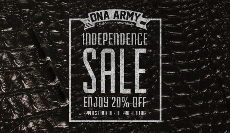 20% OFF at DNA Army