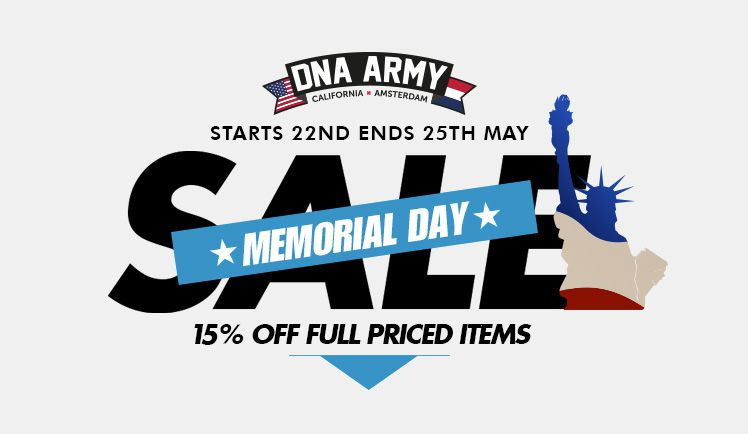 15% Off Memorial Day Special