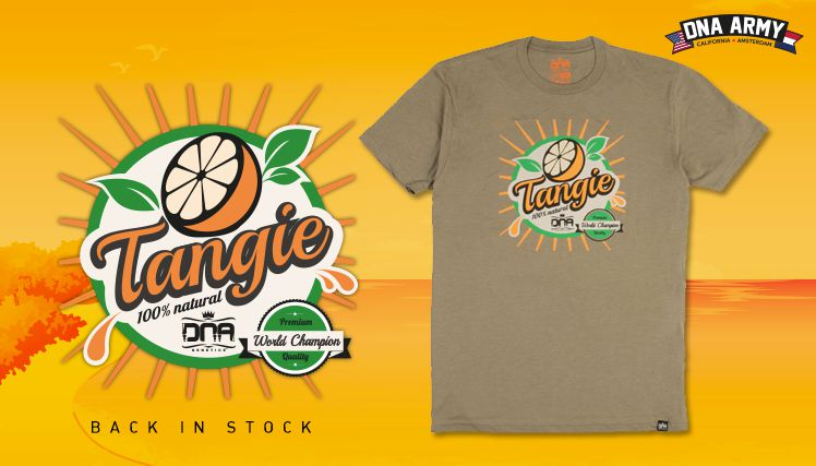 Tangie Juice Tee Back in Stock