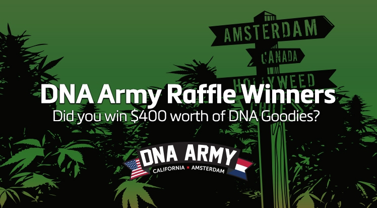 Winner announced for DNA Raffle