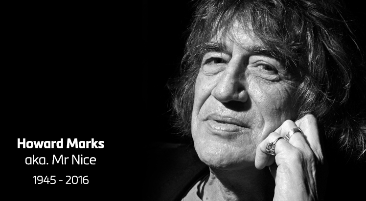 Howard Marks aka Mr Nice passes away at age 70
