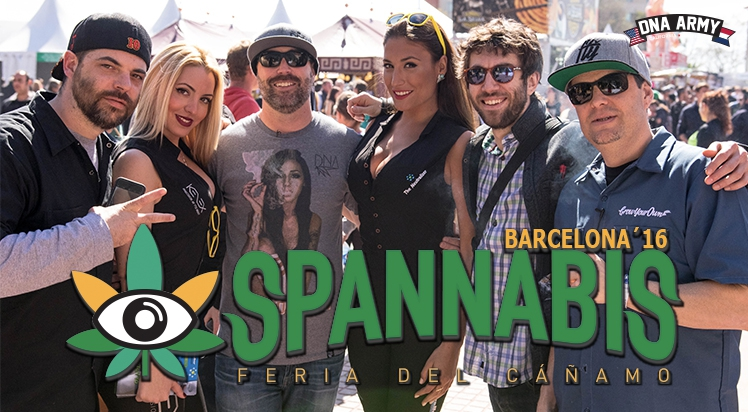 Spannabis 2016 with DNA Genetics