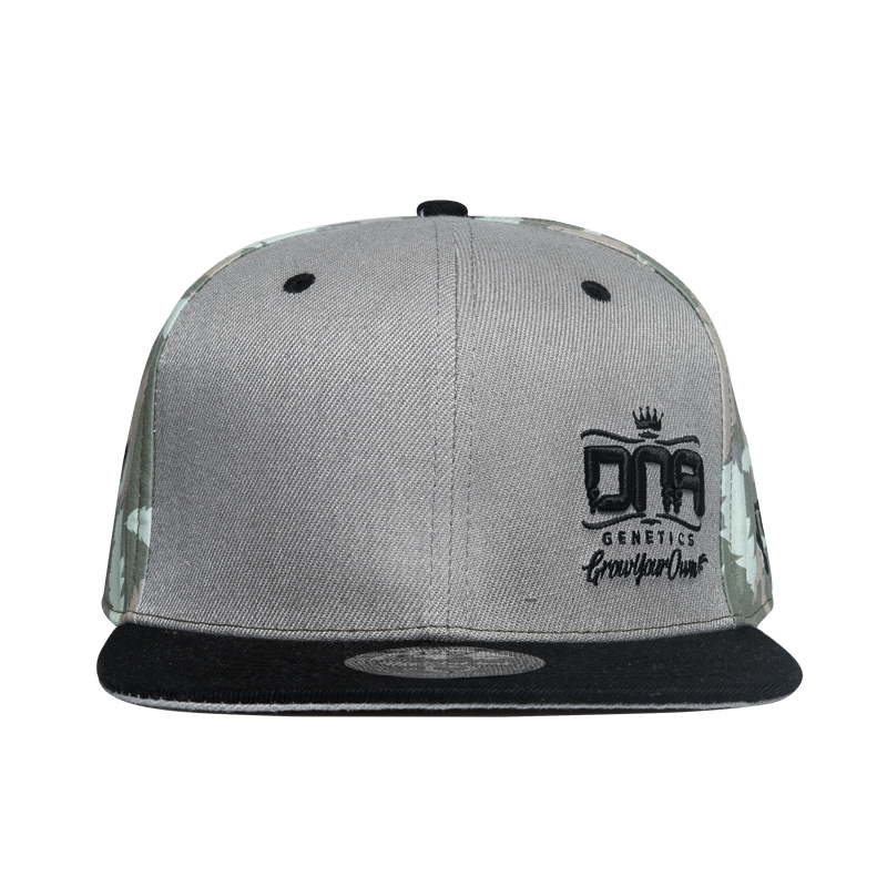 DNA Grey Camo Fitted with Stash Box