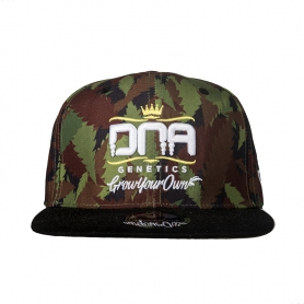 DNA Genetics Camo Fitted with Stash Box