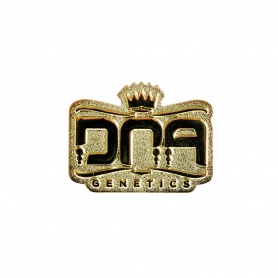 DNA Genetics Core Logo Pin Gold