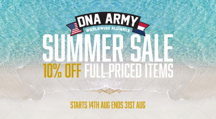 DNA Army Summer Sale